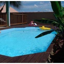 Villa cr ole avec piscine dans lotissement tr s les 3 for Club piscine ottawa ontario