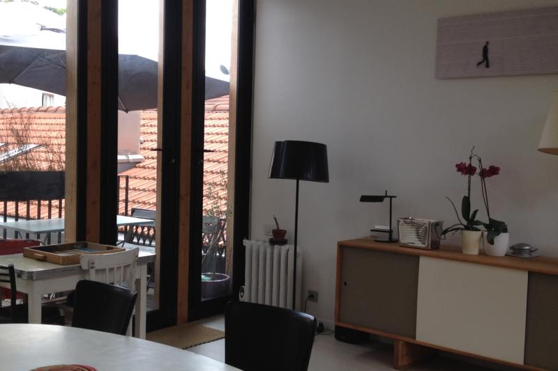 incroyable maison d 39 architecte en plein paris paris le de france love home swap. Black Bedroom Furniture Sets. Home Design Ideas